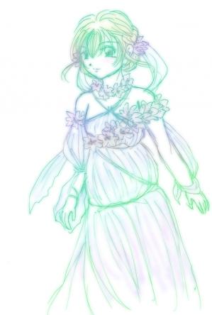 Flowergoddessgreen